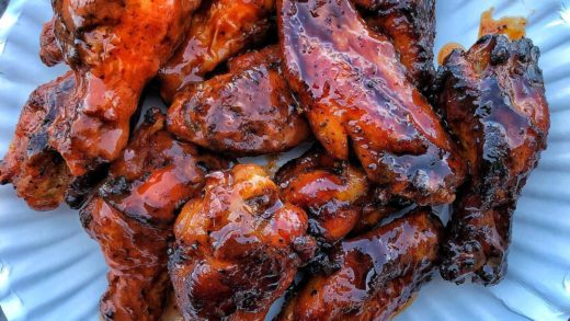 """Nothing like a BIG PILE OF WINGS to start your weekend!!!  -Red dragon """"sweet &sour"""" -Habanero  . . . Tag a WINGS LOVER ..."""