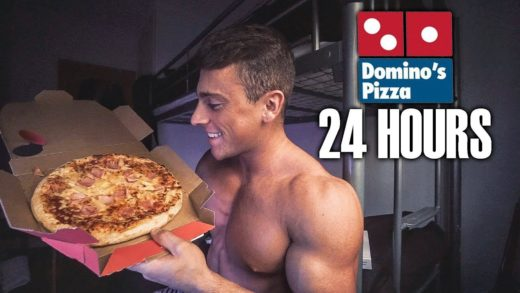 ONLY EATING PIZZA FOR 24 HOURS... *WEIRD RESULTS*