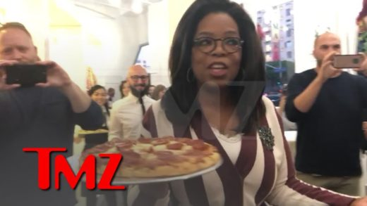 Oprah Surprises 'Project Runway' Star with Pizza Party to Celebrate Milestone | TMZ
