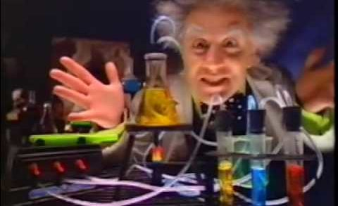 Original TYCO Doctor Dreadful Drink Lab TV Commercial