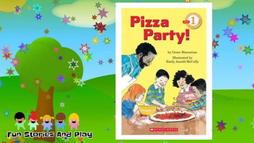 """""""PIZZA PARTY!"""" - Kids Stories Read Aloud   Childrens Read Along   Fun Stories Play"""