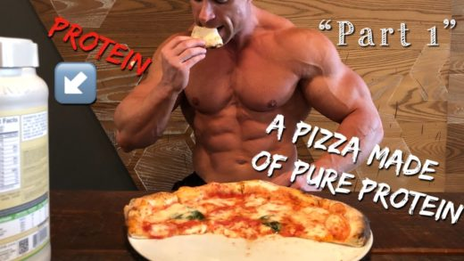 "PROTEIN PIZZA AMAZIN EXPERIMENT  ""video recipe"" part 1"