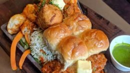 Pav Bhaji Sizzler  Location: Cream Centre, Chowpatty  By: …