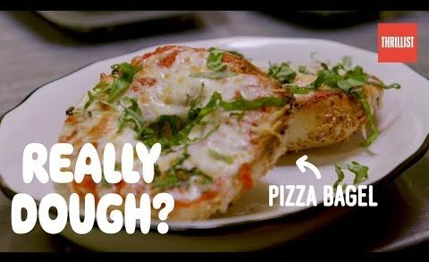 Pizza Bagel: The Most New York Food Ever? || Really Dough?