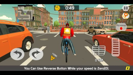 Pizza Delivery Game | Pizza Delivery Boy Duty with Bicycle Van Drone And Motor Bike | Android Games