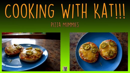 Pizza Mummies- Cooking With Kat