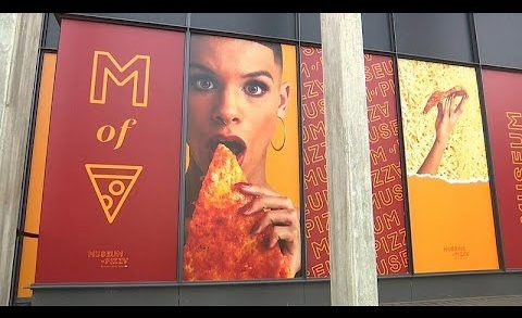 Pizza pop-up museum opens in NYC