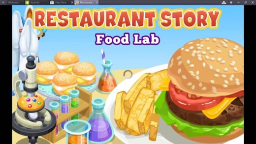Play Restaurant Story Food Lab on Mac and PC