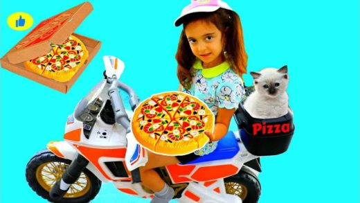 Pretend Pizza Delivery for My Kitty HD 2018
