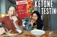 FOODporn.pl Quest Pizza Review + Ketone Testing   Full Day of Keto Eating