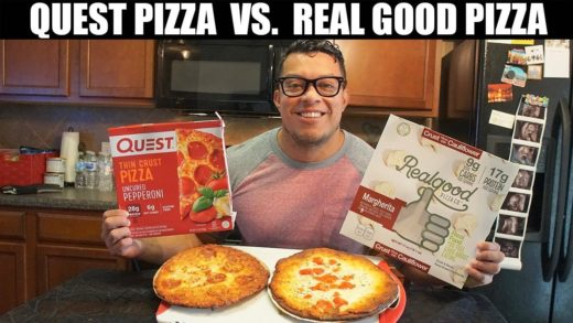 Quest Pizza vs. Real Good Pizza...Which KETO PIZZA Is Better?!