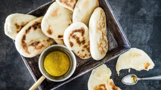 Recette:Naan (pain galette indien) | FOOBY