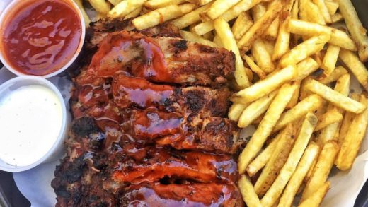 Ribs and fries perfection  •   •...
