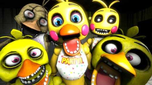 [SFM FNAF] For Pizza Lovers - Chica's Family Hungry