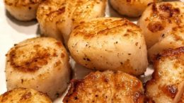 Scallops for dinner tag a friend  •   •…