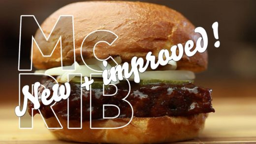 Step Aside, McRib Sandwich: Ribby McRibface Just Stole Your Glory