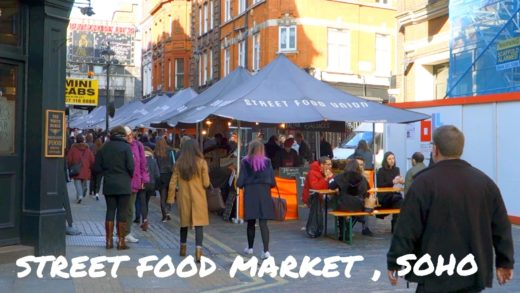 Street Food Union, Street Food Market, Soho, London