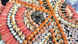 Sushi Sunday  should be a thing.  Tag friends who would join your for some delicious Sushi.  Follow us on   for more tasty tales.  By Unknown. DM for Credit….