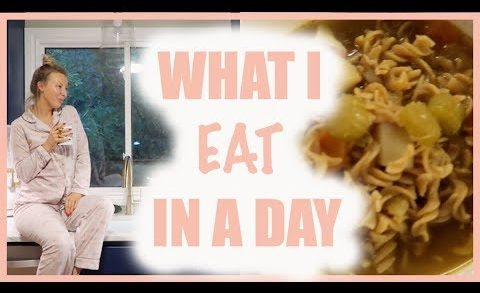 THE BEST VEGAN CHICKEN NOODLE SOUP RECIPE | WHAT I EAT IN A DAY | Anna-Rae Leslie