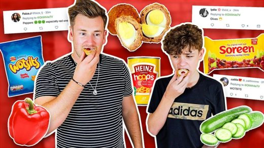 TRYING FOODS OUR VIEWERS HAVE NEVER LIKED