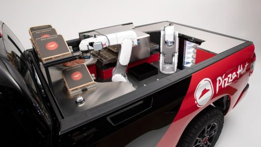 The Toyota Tundra PIE Pro Cooks Pizzas with Robots