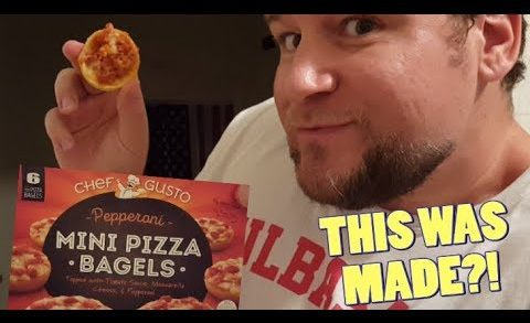 This Was Made - Dollar Tree Chef Gusto Mini Pizza Bagels (S2 Ep3)