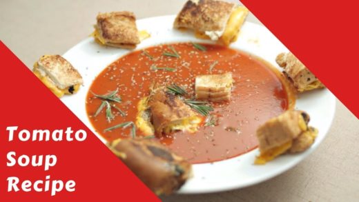 Tomato Soup recipe with Ovente Hand Blender & Induction Cooktop