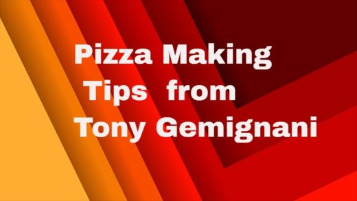 Tony Gemignani Best Pizza Tips to Make Pizza at Home