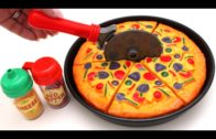 FOODporn.pl Toy Velcro Cutting Pizza Ice Cream Learn Fruits & Vegetables Toy Surprise