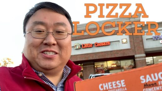 Using the Little Caesars Pizza Portal Pickup Lockers for Online Pizza Orders