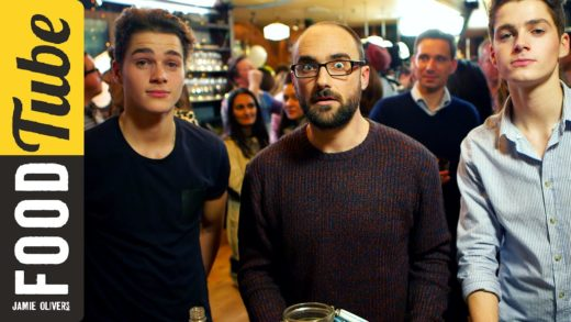 VSAUCE & JACKSGAP party trick   Food Tube (was) Live!