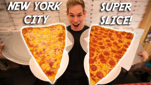 WORLD'S LARGEST PIZZA SLICE! - NEW YORK CITY
