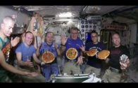 FOODporn.pl Watch: Italian astronaut Paolo Nespoli shares a pizza home with ISS crew