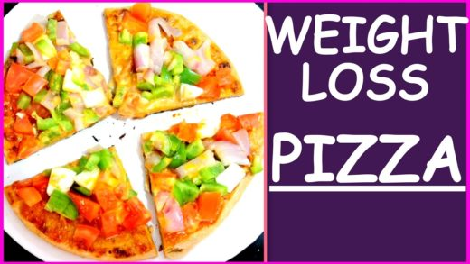 Weight Loss Pizza | Homemade Pizza Recipe | How To Make Pizza on Tawa at Home | Fat to Fab