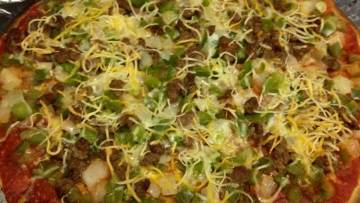 Weight Watchers -  Combination Pizza Recipe! Satisfies that Pizza Craving without all the Calories!