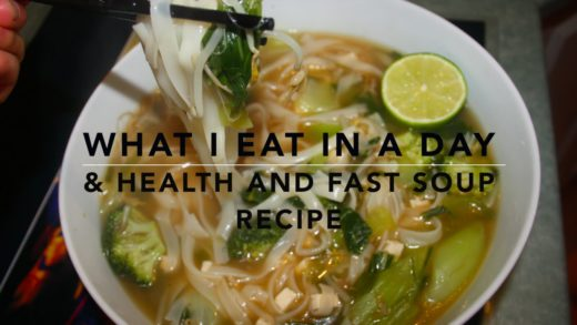 What I eat in a day + Quick, Healthy Cheap & Filling Soup Recipe!