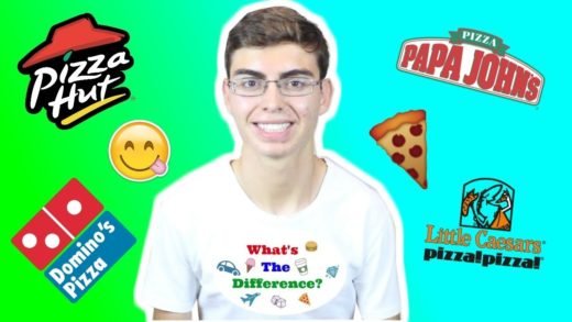 What's The Difference? PIZZA!! (Domino's, Papa Johns, Pizza Hut, Little Caesars)