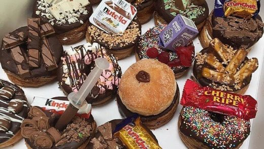 Which Cronuts  will you pick?  Tag your  friends.  By Unknown. DM for Credit please....
