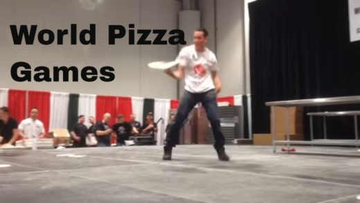 World Pizza Games Trials at Pizza Expo