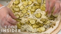 Would You Try A Pizza Covered In Pickles?