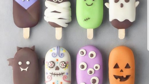 YES OR NO?? halloween cake pop by  . its so original and perfect ideas.               ...
