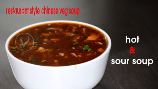 YUMMY VEGETABLE SOUP @ HOME - Cooking Quick and Easy HOT AND SOUR Vegetable Soup Recipe