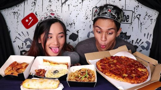 Yellowcab PIZZA Mukbang | request of Hungry Cakes