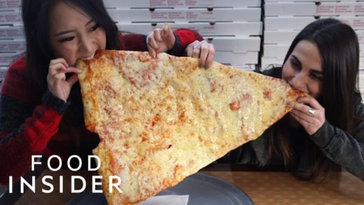 You Can Get A Massive 2-Foot-Long Pizza Slice In NYC