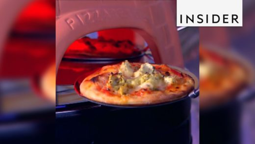 You can now bake mini pizzas right at your dinner table