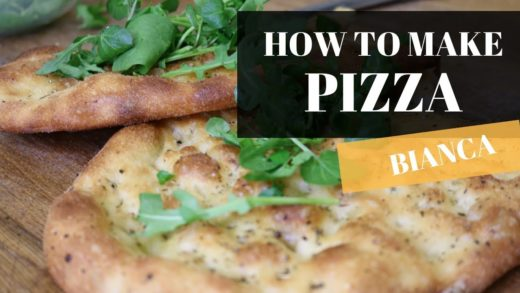 how to make pizza bianca