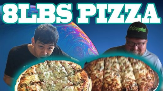 $150 8LBS PIZZA CHALLENGE! EPIC FOOD CHALLENGE FT GEORGE CHIGER
