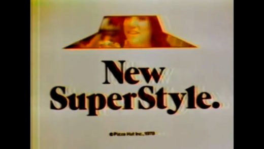 1978 Pizza Hut SuperStyle Commercial