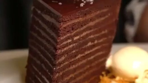 24 layers of chocolate heaven could you finish it?? .                             ...