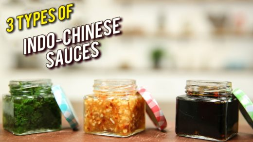 3 Types Of Chinese Sauces - Indo-Chinese Recipe - Basic Cooking - Varun Inamdar